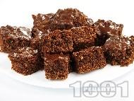 Шоко кекс с орехи